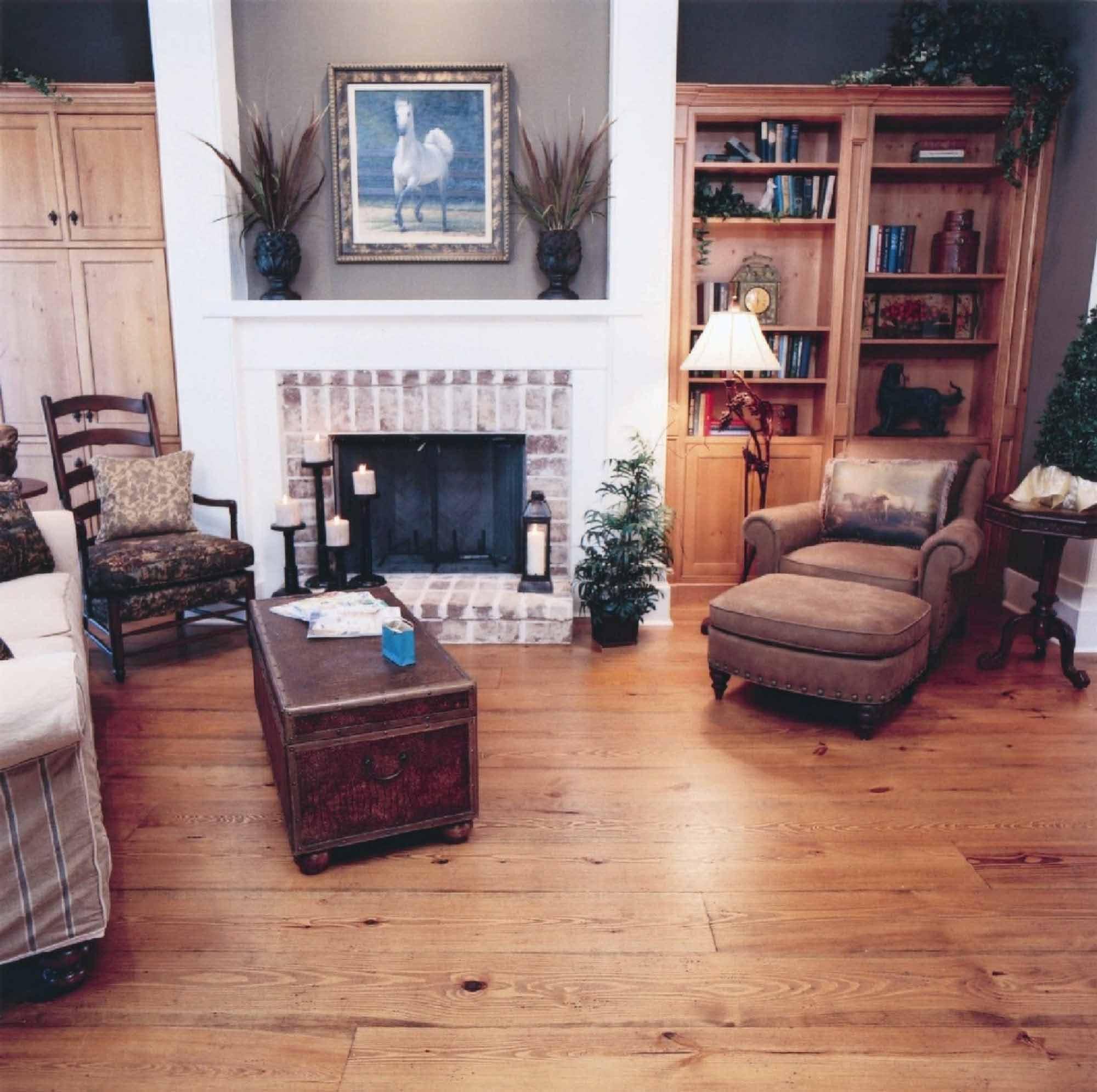 Timberknee Ltd Heart Pine Flooring Gallery