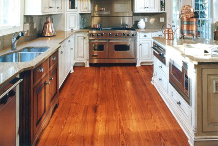 Timberknee Ltd Heart Pine Flooring Gallery