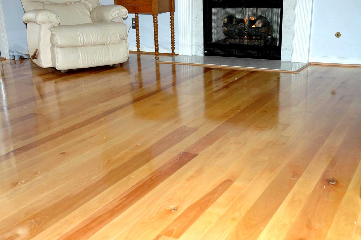 Timberknee Ltd Yellow Birch Flooring Gallery
