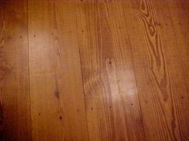 Stained Red Pine Panel
